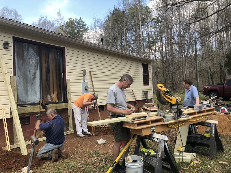 Mens Group House Repair Project
